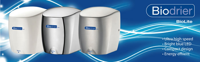 Energy Efficient Hand Dryers for Schools and the Public Sector