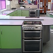 Holmes Chapel Comprehensive School upgrade their cookers with Utility Rentals